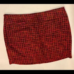 NWT The Limited Tweed Mini Pencil Skirt * Size 14